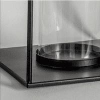 Black Metal Lantern - Small | Home Accessories